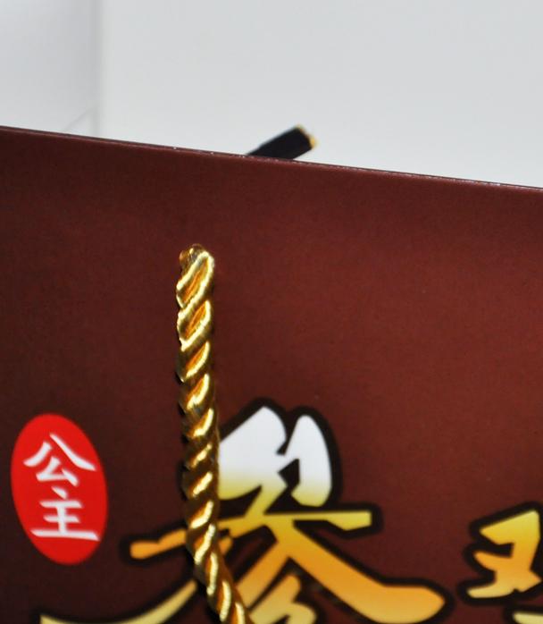 韩国参鸡汤手提袋印刷